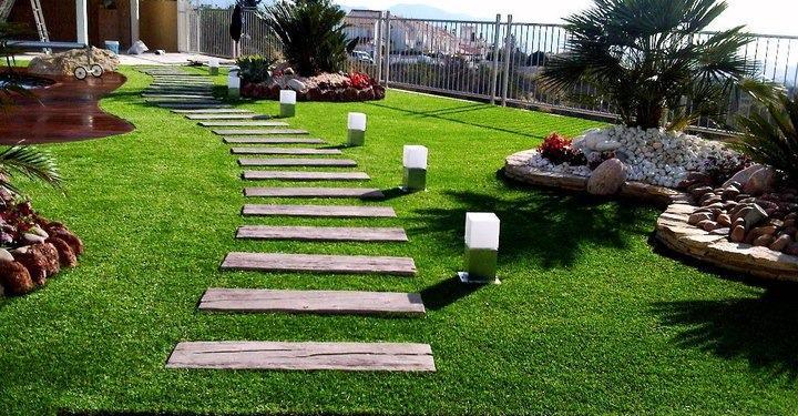 cesped decorativo para jardines