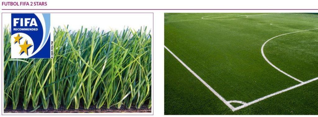 El césped artificial de Evolution Grass está homologado para jugar al fútbol
