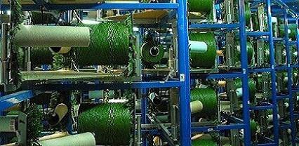 Fabricación de césped artificial en nuestras instalaciones