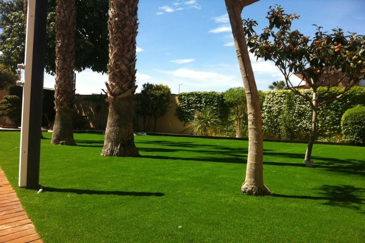 Césped artificial instalado en Elche | Evolution Grass